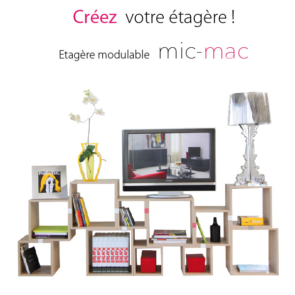 mic mac Rectangle blanc